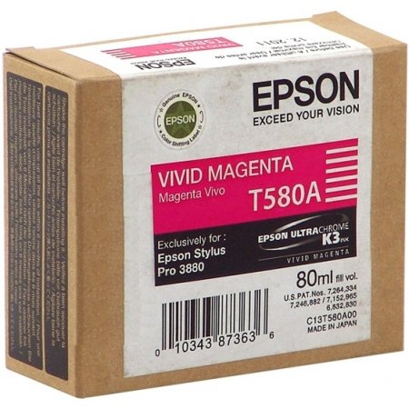 Epson T580A00 Vivid Magenta (80 ml)