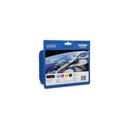 LC-985 VALBP (inkoust multipack-černá+tři barvy)