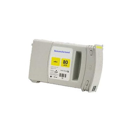 HP C4848A - kompatibilní cartridge s hp 80XL yellow