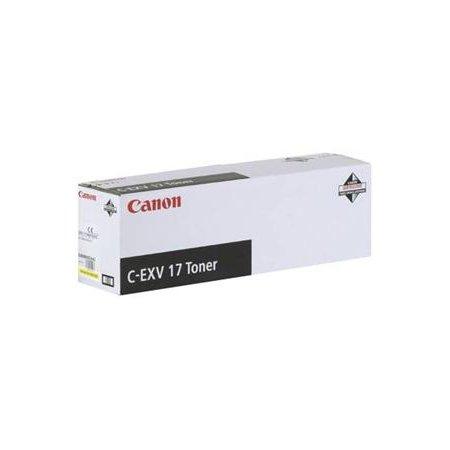 Canon toner C-EXV 17 žlutý
