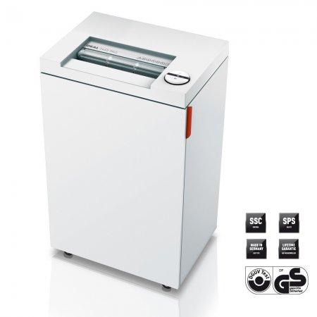 Skartovací stroj Ideal 2465, řez 4 x 40 mm