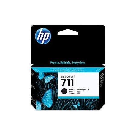 HP no 711 - černá inkoustová kazeta, CZ129A