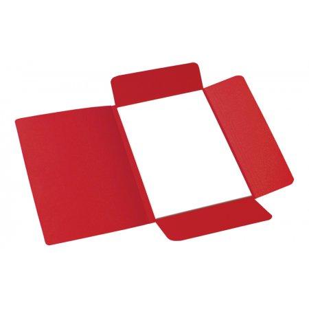 Desky odkládací 253 Classic, 3 klopy, červené