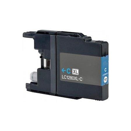 Brother LC1280XLC -kompatibilní cartridge modrá