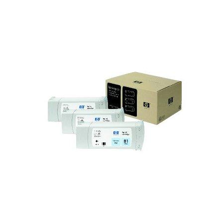 HP no 81 - světle modrý - 3 pack, dye, C5070A