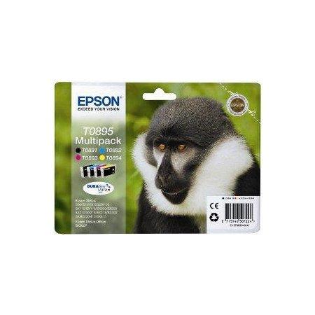 EPSON Multipack CMYK DURABrite Ultra (T0895)