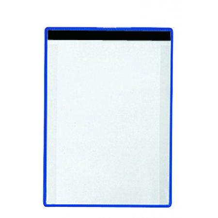 Kontrolní kapsy A4 s magnetickou páskou, modré, 5ks