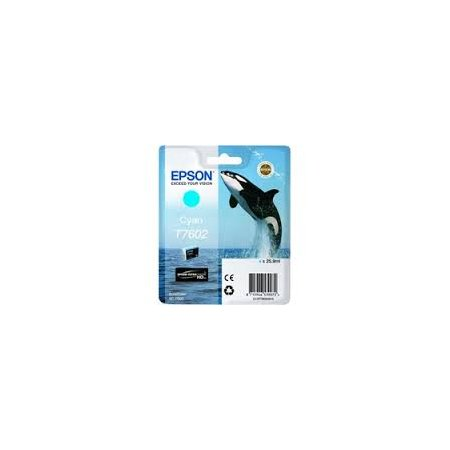 Epson T7602 Ink Cartridge Cyan