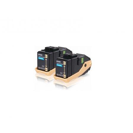 EPSON Cyan Double Pack toner AL-C9300N 7,5K x2