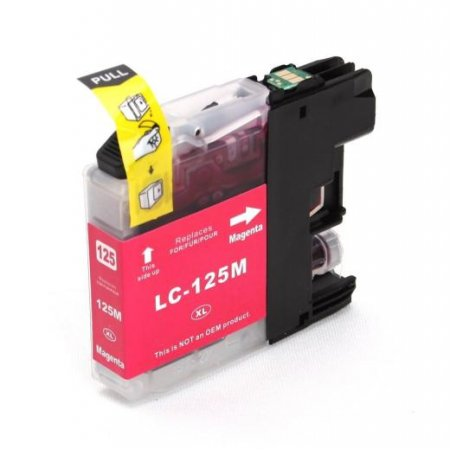 Brother LC125XL M - kompatibilní