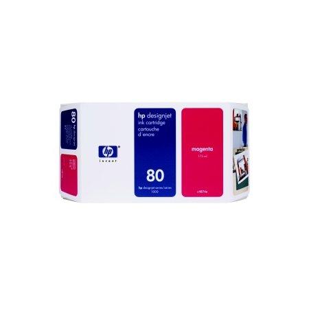 HP no 80 - červená ink. kazeta malá, C4874A