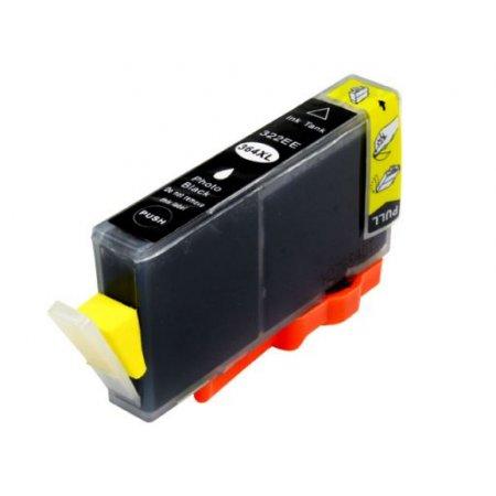 HP CB322A - kompatibilní cartridge s hp 364XL photo black s plně funkčním čipem