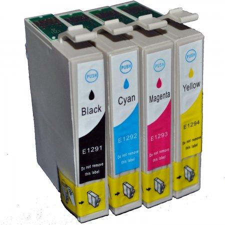 Epson T1295 CMYK - kompatibilní multipack Topprint, CMYK s čipy