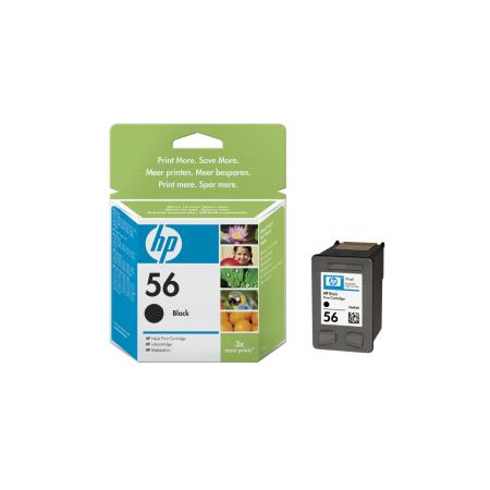 HP no. 56 - černá ink. kazeta, C6656AE
