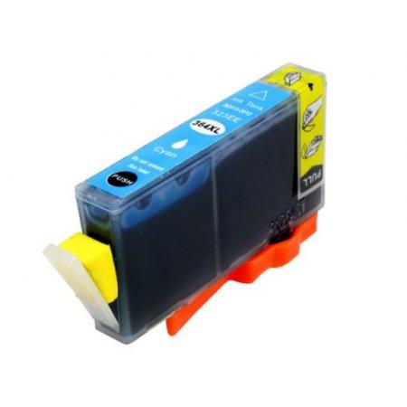 HP CB323A - kompatibilní cartridge s hp 364XL cyan s plně funkčním čipem