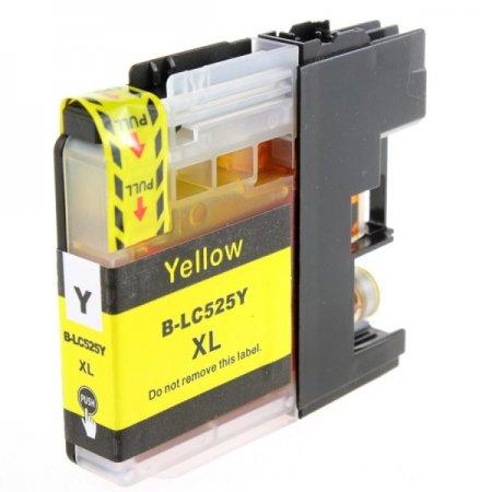 Brother LC-525XLY - kompatibilní cartridge žlutá, XL kapacita