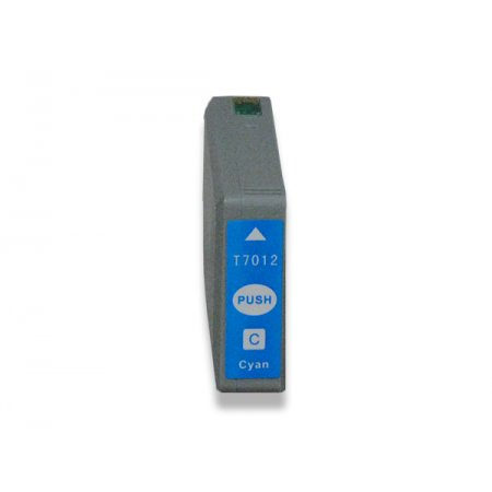 Epson T7012 - kompatibilní cartridge s čipem, XXL kapacita cyan