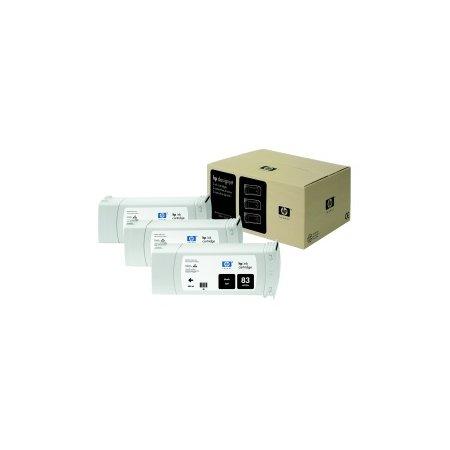 HP no 83 - černý UV ink - 3 pack, C5072A