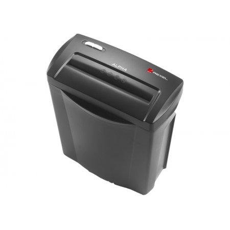Skartovač REXEL ALPHA X, kapacita 5 listů, řez 4x30 mm