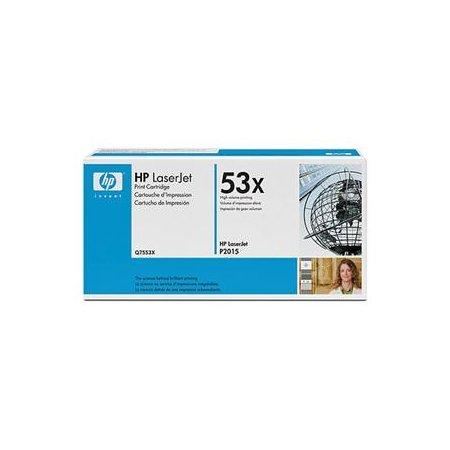 HP Toner Cart pro LJ P2015, Q7553X - 2 pack
