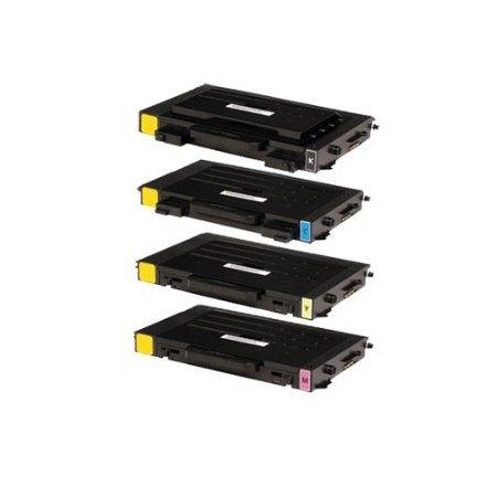Samsung CLP-510C - kompatibilní tonerová kazeta CLP510 modrá, XL kapacita 5.000stran