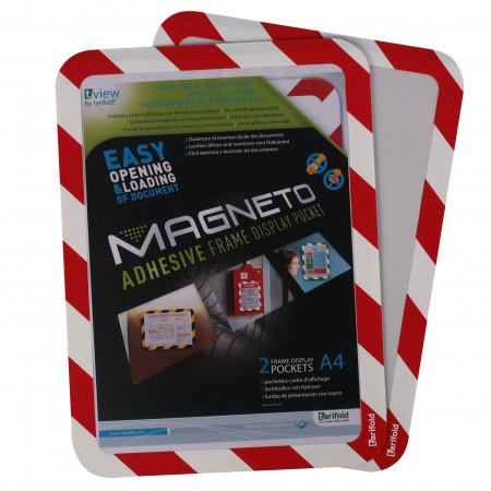 Magneto kapsa A4 bezpečnostní samolepící, 2ks