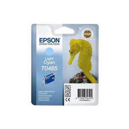 EPSON Ink ctrg Light Cyan RX500/RX600/R300/R200 T0485