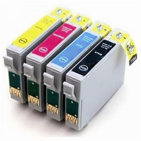 Epson T1636 - kompatibilní sada 4 cartridge s čipy, všechny barvy