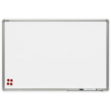 Bílá magnetická tabule 240x120cm s matným keramickým povrchem-pro promítání prezentací