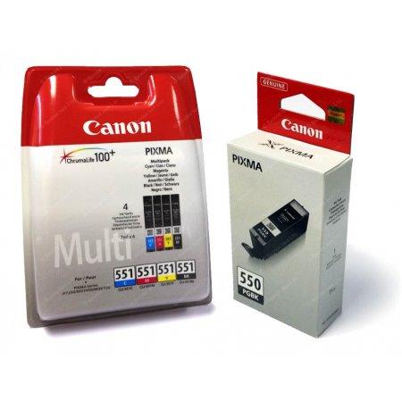 Canon PGI-550 + CLI-551 C/M/Y/BK/GY Multi pack