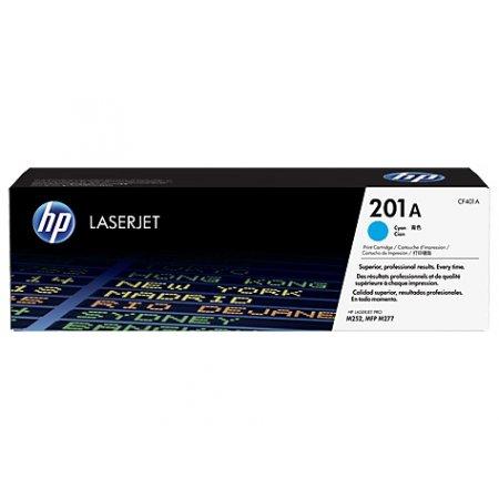 HP 201A tisková kazeta azurová, CF401A