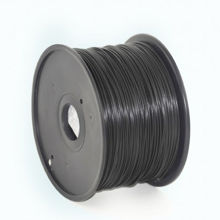 GEMBIRD Struna pro 3D tisk, ABS, 1,75mm, 1kg, 400m, černá, obr. 1