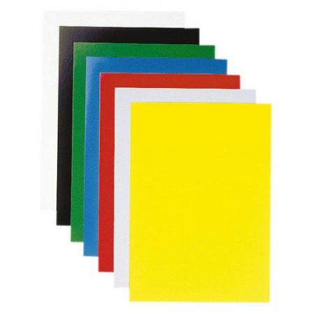 Spodní desky barevné A4 Chromolux pro kroužkovou vazbu, 100ks