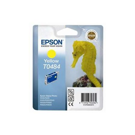 EPSON Ink ctrg Yellow pro RX500/RX600/R300/R200 T0484