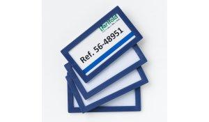 Display Frame samolepící rámečky 80 x 45 mm, 20ks, modrá