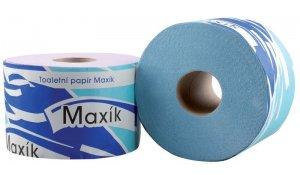 Toaletní papír Maxík dvouvrstvý, 1000 útržků, 24 roliček