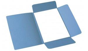 Desky odkládací 253 Classic, 3 klopy, modré