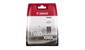 Canon PGI-35BK, černá inkoustová kazeta - 2 pack
