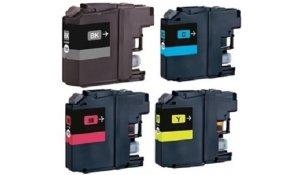 Brother LC-223 BK+CMY - kompatibilní sada všech barev