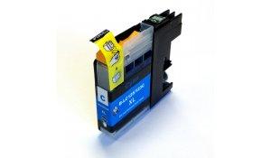 Brother LC-123C - kompatibilní cartridge modrá s novým čipem