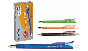 Kuličkové pero plastové FO-GELB 06, mix barev