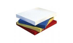 Spodní desky bílé A4 Chromolux pro kroužkovou vazbu, 100ks