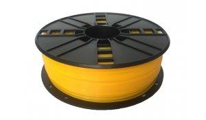 GEMBIRD Tisková struna (filament), nylon, 1,75mm, 1kg,žlutá
