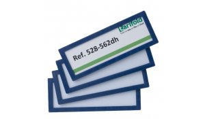 Display Frame samolepící rámečky 120 x 45 mm, 20ks, modrá