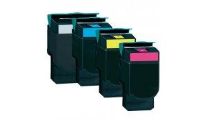 Lexmark C540H1CG - kompatibilní modrá tisková kazeta C540, C543, C544, X544, X546, X548