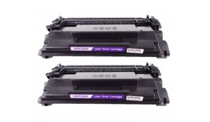 HP CF226XD - kompatibilní černá, 26X, dvojbalení
