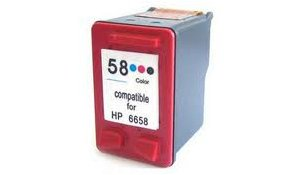 HP C6658A - kompatibilní photo cartridge s hp 58