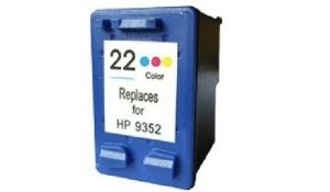 HP C9352A - renovovaná cartridge s hp 22XL color