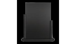 Stolní stojánek s popisovací tabulkou střední, černý