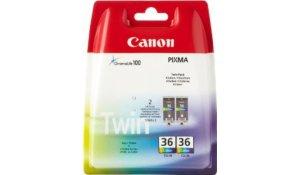 Canon CLI-36, barevná inkoustová kazeta - 2 pack